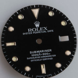 Cadran Rolex Submariner Oyster Perpetual Date