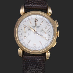 Breitling Chronographe réf.1964 Or Jaune 18k