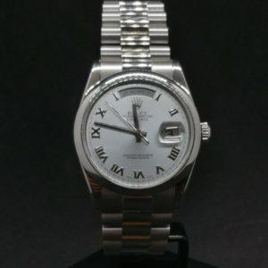 Rolex Day Date 118206 Platine