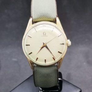 Omega montre or jaune circa 1960