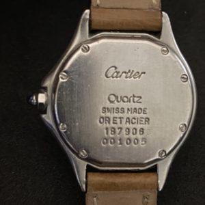 Cartier Panthère Cougar or et acier réf.187906