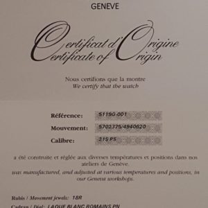Patek Philippe Calatrava réf.5119G-001