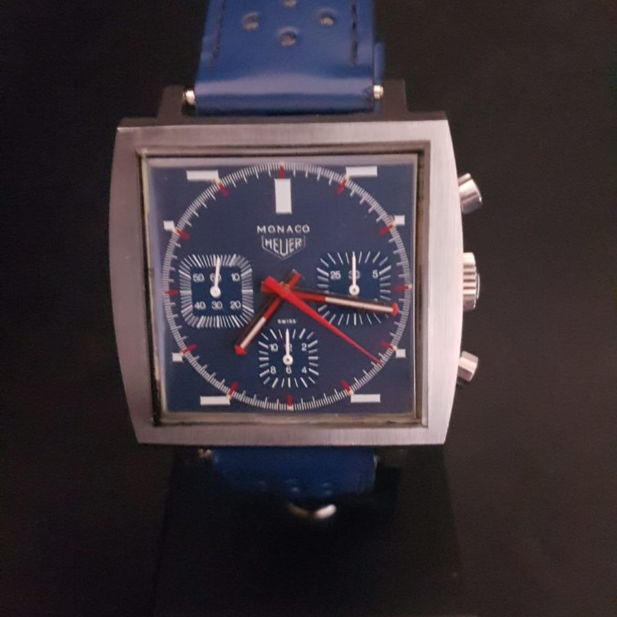 "Tag Heuer Chronographe ""Monaco"" circa 1966"
